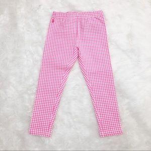 Polo Ralph Lauren Girls 4T Pink Gingham Leggings